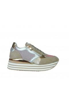 Inblu IN224 Scarpe Donna Sneakers Platform Stringate Memory Foam Sabbia Francesine e Sneakers IN224SAB