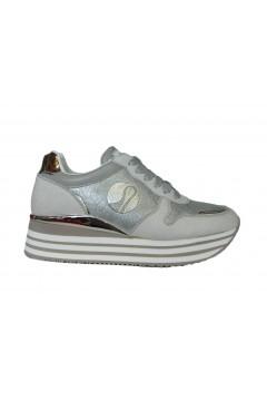 Inblu IN231 Scarpe Donna Sneakers Platform Stringate Memory Foam Argento Francesine e Sneakers IN231ARG