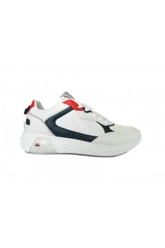Navigare Rider 015220 Scarpe Uomo Sneakers Memory Foam Bianco Sneakers NAM015220BIA