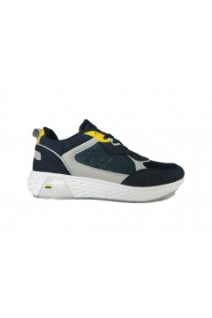 Navigare Rider 015220 Scarpe Uomo Sneakers Memory Foam Blu Sneakers NAM015220BLU