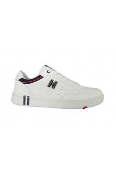 Navigare Rome LTH 018110 Scarpe Uomo Sneakers Stringate Bianco Sneakers NAM018110BIA