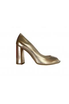 Estro Donna 042 Scarpe Sposa Decollete Open Toe Rosa Gold Decoltè ED042PRG