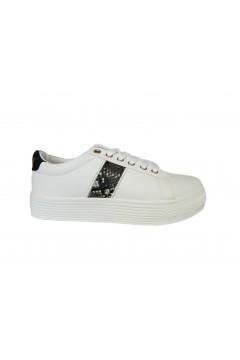 EL CHARRO 1344NX Scarpe Donna Sneakers Stringate Platform Bianco Francesine e Sneakers C1344NX