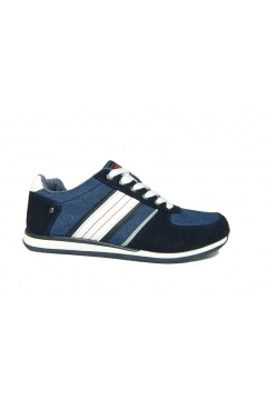 Beppi 2172700 Scarpe Uomo Sneakers Stringate Blu Sneakers 2172700B