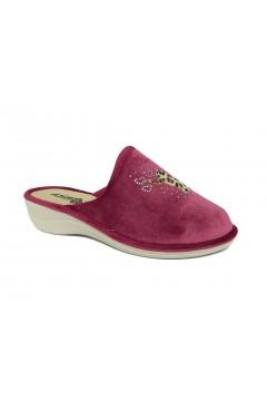 Axa 19198 Pantofole Donna in Panno Bordeaux Ciabatte e Infradito A19198BRX