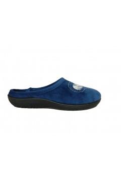 Axa 19186 Pantofole Donna Vaschetta Plantare Estraibile Blu Ciabatte e Infradito A19186BLU