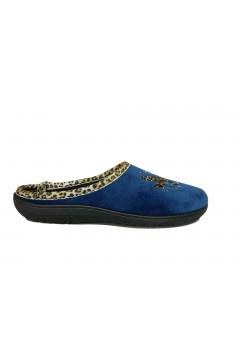 Axa 19184 Pantofole Donna Vaschetta Plantare Estraibile Blu Ciabatte e Infradito A19184BLU
