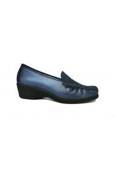Stile di Vita 2789 Mocassini Donna Traforati Extra Comfort Blu Mocassini e Ballerine S2789BLU