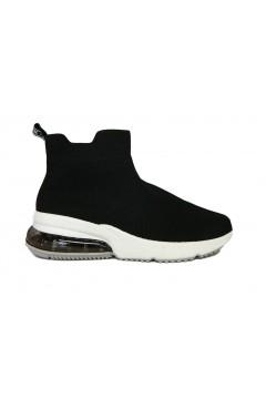 XTI 49958 Scarpe Donna Sneakers Air Calza Elasticizzate Nero Francesine e Sneakers X49958NR