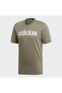 Adidas FM6226 T-Shirt Uomo Essential Logo Verde T-Shirts FM6226
