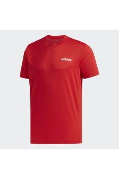 Adidas FL0290 T-Shirt Uomo Climalite Taglio Regolare Rosso  T-Shirts FL0290