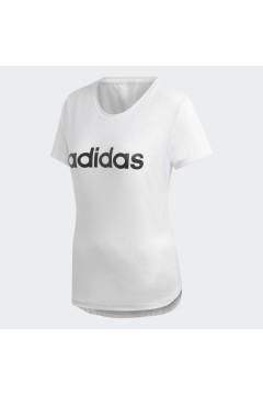 Adidas DU2080 T-Shirt Donna Climalite Bianco Abbigliamento Sportivo DU2080