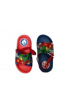 Avengers S17154 Ciabatte Bambino Mare Casa con Elastico Fascia Larga in Gomma Scarpe Bambino S17154