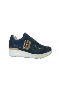 Laura Biagiotti 6104 Scarpe Donna Sneakers Stringate Blu Francesine e Sneakers L6104BLU