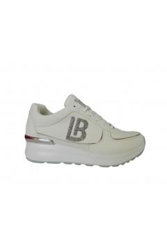 Laura Biagiotti 6104 Scarpe Donna Sneakers Stringate Bianco Francesine e Sneakers L6104BIA