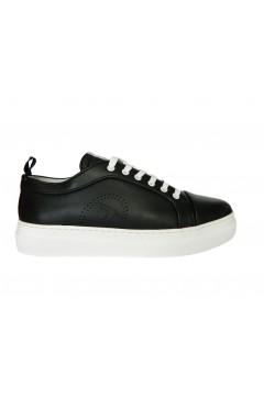 Trussardi Jeans 77A00296 Sneakers Premium Uomo Stringate Nero  Sneakers 77A00296K308