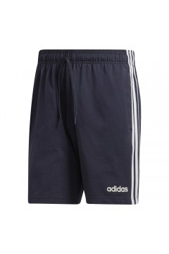 Adidas DU0492 Short Uomo Essential 3-Stripes Blu Pantaloni e Shorts DU0492