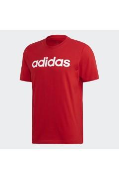 Adidas FM6223 T-Shirt Uomo Essential Taglio Regolare Rosso T-Shirts FM6223
