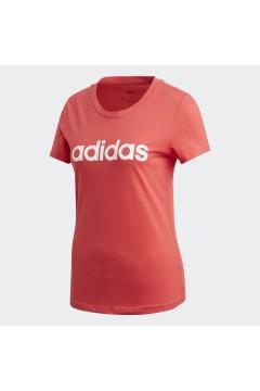 Adidas FM6427 T-Shirt Donna Essential Taglio Aderente Core Pink Abbigliamento Sportivo FM6427