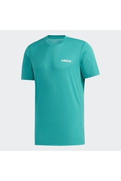 Adidas FL0289 T-Shirt Uomo Climalite Taglio Regolare Verde  T-Shirts FL0289