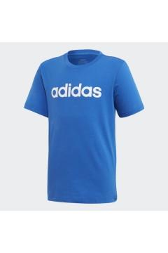 Adidas FM7040 T-Shirt per Bambini Essential Blu Abbigliamento Bambina FM7040