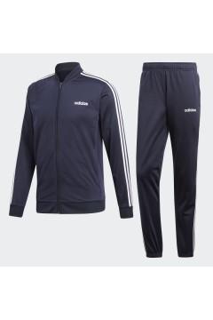 Adidas DV2468 Tuta Completa 3-Stripes Uomo Blu Ink Tute DV2468