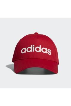 Adidas EC4703 Cappellino Daily Cappello con Visiera Rosso Accessori Sport EC4703