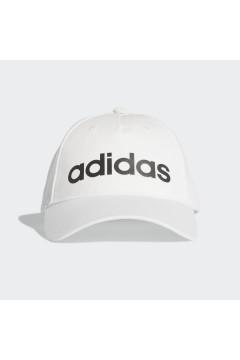 Adidas FM6787 Cappellino Daily Cappello con Visiera Bianco Accessori Sport FM6787