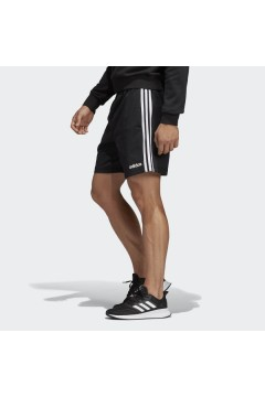 Adidas DU0491 Short Uomo Essential 3-Stripes Nero Pantaloni e Shorts DU0491