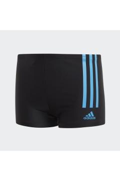 Adidas FQ2404 Costume Boxer Mare Piscina Bagno Nero Azzurro Abbigliamento Bambino FQ2404