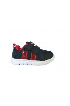 Lumberjack Crash SB55112 Sneakers Bambini Primi Passi Blu Scarpe Bambino SB55112M67M0146
