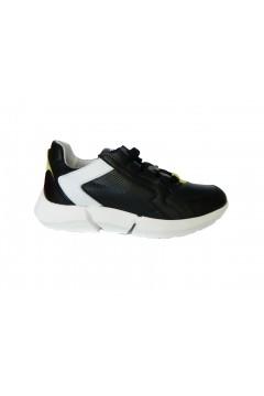 The FLEXX Icarus Kino Scarpe Donna Sneakers Stringate Nero Francesine e Sneakers E0512NR