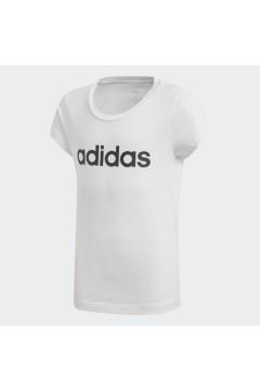 Adidas DV0357 T-Shirt per Bambina Essential Bianco Abbigliamento Bambina DV0357
