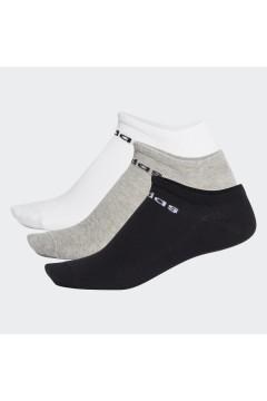 Adidas FJ7717 3 paia Calze Fantasmini Unisex Multi Color Abbigliamento Sportivo FJ7717