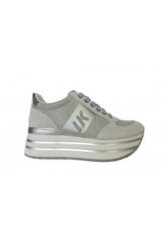 Lumberjack Connie SW58111 Sneakers Donna Stringate Platform White Silver Francesine e Sneakers SW58111X92M0167