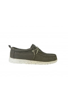 Lumberjack Willy SMA1012 Mocassini Slip On con Laccio Regolabile Grigio Mocassini SMA1012CD004