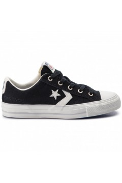 Converse 163964C Star Player Ox Sneakers Mid Canvas Blu Black Vintage Francesine e Sneakers 163964C