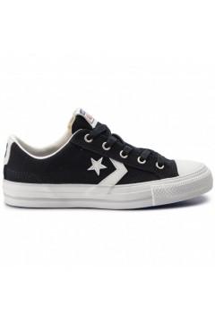 Converse 163964C Star Player Ox Sneakers Mid Canvas Blu Black Vintage Francesine e Sneakers 163964C