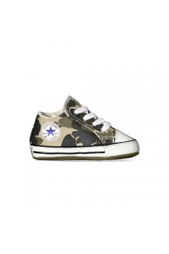 Converse 868014C All Star Cribster Sneakers Mid da Culla con Strappo Camouflage Scarpe Bambino 868014C