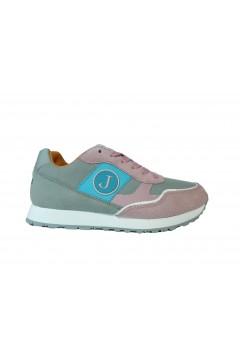 Jeckerson JGPU045 Sneakers Donna Stringate Extra Light Rosa Multicolor Francesine e Sneakers JGPU045