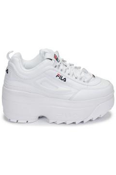 Fila Distruptor Wedge Wmn Sneakers Stringate Bianco Francesine e Sneakers 10108651FG