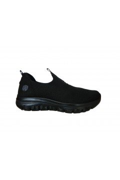 Laura Azana 24504 Scarpe Donna Sneakers Slip On Memory Foam Nero Francesine e Sneakers LA24505NR