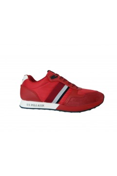 U. S. Polo Ass. Julius 2 Scarpe Uomo Sneakers Stringate Rosso Sneakers JULIUS2RED
