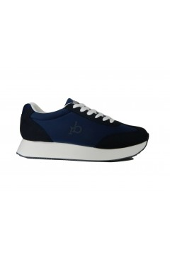roccobarocco AS2004 Scarpe Uomo Sneakers Stringate Blu Sneakers AS2004BLU