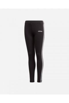 Adidas DV0367 Leggings Essential 3-Stripes Black White Abbigliamento Bambina DV0367