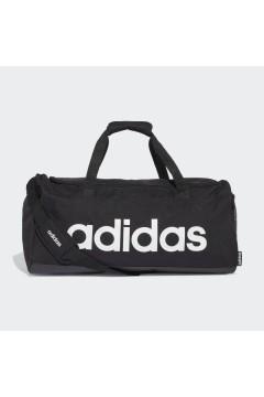 Adidas FL3651 Borsone Medio Linear Doppi Manici Tracolla Logo Nero Borse FL3651