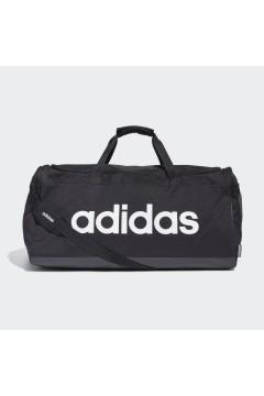 Adidas FM2400 Borsone Linear Logo Large Doppi Manici Tracolla Logo Nero Borse FM2400