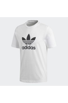 Adidas CW0710 T-Shirt Uomo Trefoil Bianco T-Shirts CW0710