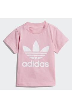Adidas DV2831 T-Shirt Trefoil Bambina Rosa Abbigliamento Bambina DV2831