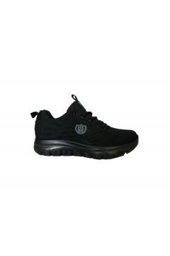 Laura Azana 24503 Scarpe Donna Sneakers Stringate Memory Foam Nero Francesine e Sneakers LA24503NR